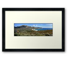 Tidal Overlook II Framed Print