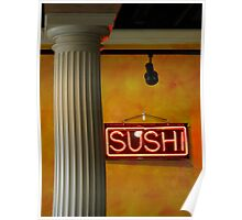 sushi napolitana Poster