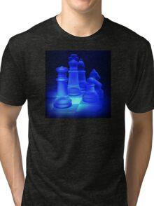 Chess Pieces Tri-blend T-Shirt