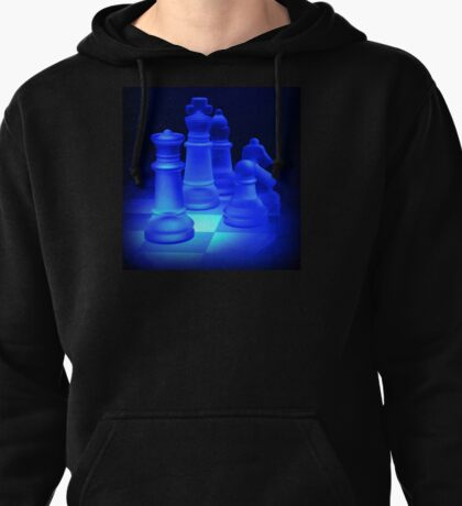 Chess Pieces Pullover Hoodie
