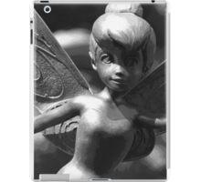 Faith, Trust & Pixie Dust (Black & White) iPad Case/Skin