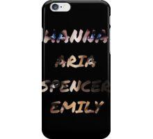 Pretty Little Liars Eyes  iPhone Case/Skin