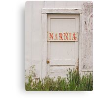 The Door To Narnia....... Canvas Print