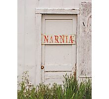 The Door To Narnia....... Photographic Print