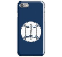 Jack White III - Baseball Logo (Detroit Tigers Edition) iPhone Case/Skin