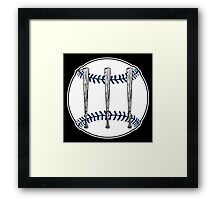 Jack White III - Baseball Logo (Detroit Tigers Edition) Framed Print