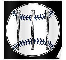 Jack White III - Baseball Logo (Detroit Tigers Edition) Poster