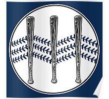 Jack White III - Baseball Logo (Alternate Detroit Tigers Edition) Poster