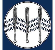 Jack White III - Baseball Logo (Alternate Detroit Tigers Edition) Photographic Print