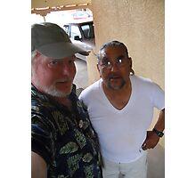Patrick Romero & Me Photographic Print