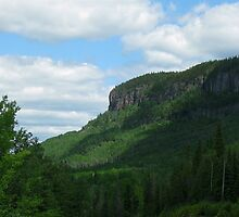 Kama Mountain HIghway 17 Nipigon Ontario canada by loralea