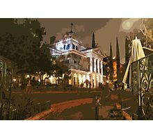 Where The Crypt Doors Creak Photographic Print