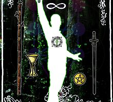 The Magician - a portrait in Tarot  by Simon Breese