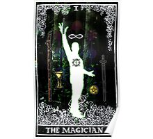 The Magician - a portrait in Tarot  Poster