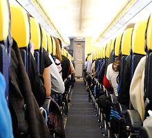 Ryanair flight by Carlos Rodriguez