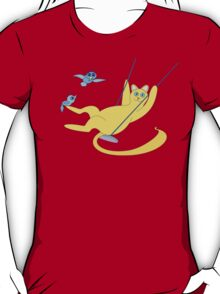 Cat On A Swing T-Shirt