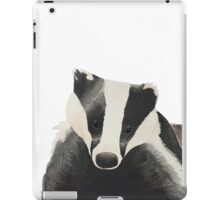 A cute badger iPad Case/Skin