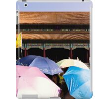 Umbrella Army - Beijing China iPad Case/Skin