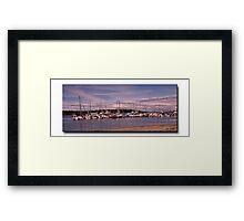 Port McNeil Marina Framed Print