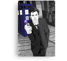 The Tenth Doctor (What??)  Metal Print