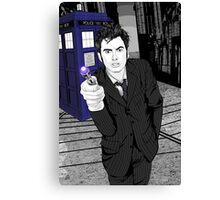 The Tenth Doctor (What??)  Canvas Print