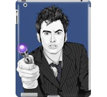 The Tenth Doctor (What??)  iPad Case/Skin