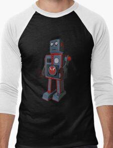 Vintage Robot Men's Baseball ¾ T-Shirt