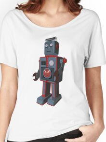 Vintage Robot Women's Relaxed Fit T-Shirt