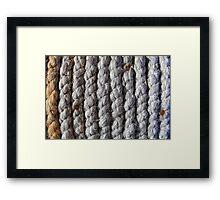 Spiral of rope Framed Print