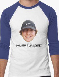 No Girls Allowed Men's Baseball ¾ T-Shirt