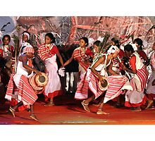 The tribal dance # 2. Photographic Print