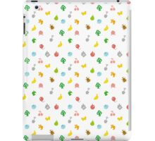 Animal Crossing Amiibo Card - Pattern iPad Case/Skin