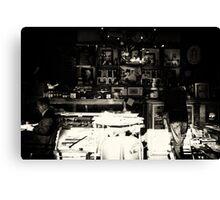 Cafe Paris Canvas Print