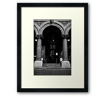Vienna or bust Framed Print