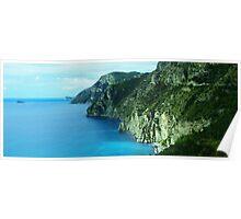 Rockface- Amalfi Coast Poster