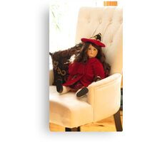 Eaton Beauty Doll Canvas Print