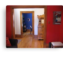 Three Colourful Rooms Canvas Print