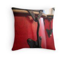 Red Bongo Drums Throw Pillow