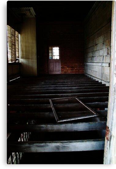Abandoned - Woogaroo Lunatic Asylum by Rachael Lancaster