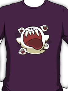 Vintage Super Mario World - Boo Ghost T-Shirt