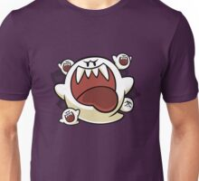 Vintage Super Mario World - Boo Ghost Unisex T-Shirt
