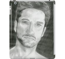 A Look Of Contemplation iPad Case/Skin