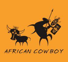 African Cowboy by jean-louis bouzou