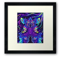 Alien Candy Framed Print