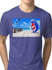 Postcard from Bali Tri-blend T-Shirt