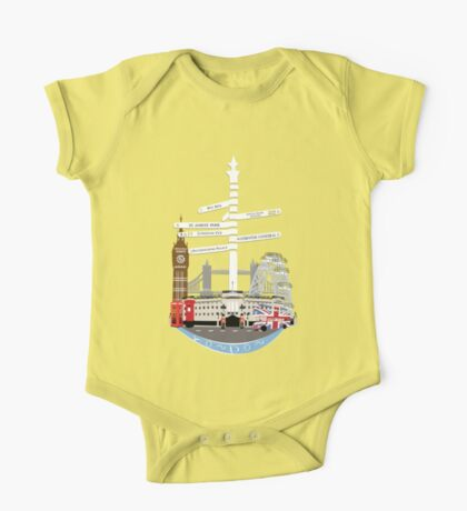 Welcome To London One Piece - Short Sleeve
