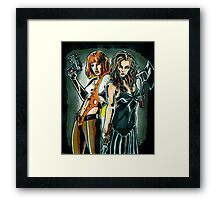 WEAPON. Framed Print