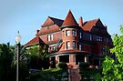 The McCuran Mansion built in 1901 ~ Salt Lake City  USA  by Jan  Tribe