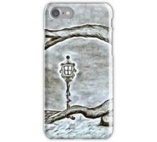 A winter evening iPhone Case/Skin