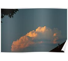 Evening Cloud Poster